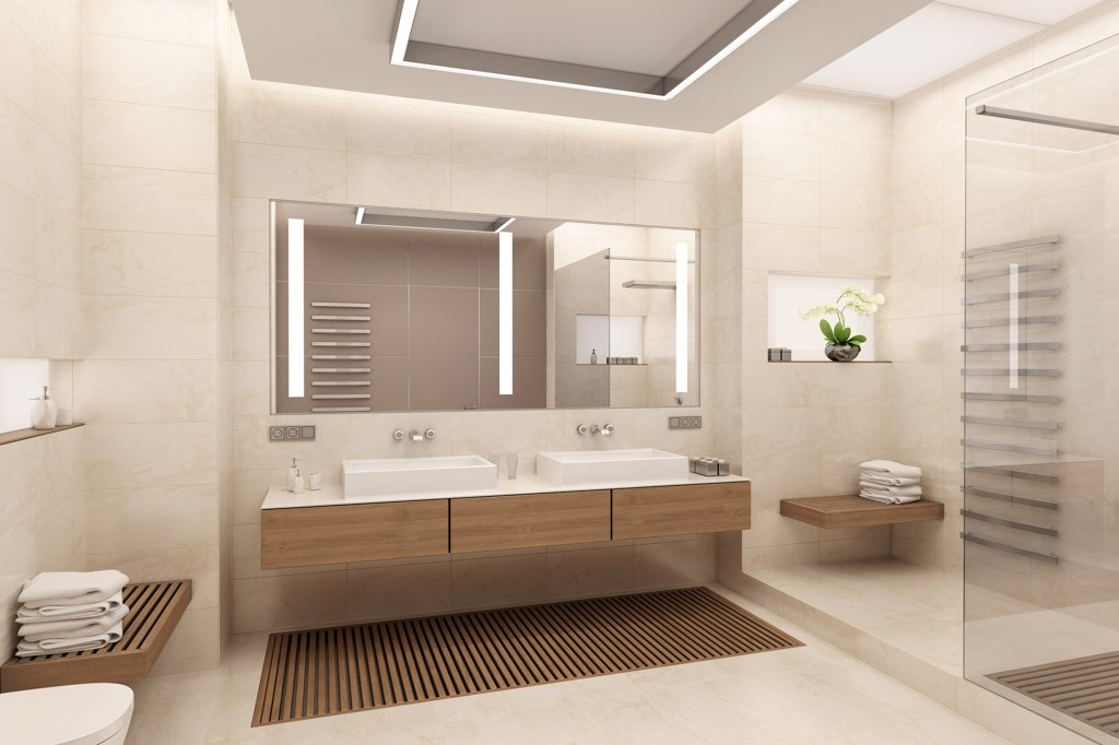 Neue Tendenzen Badezimmer Einrichtung Waschtisch ? Modernise.info Badezimmer Einrichtung